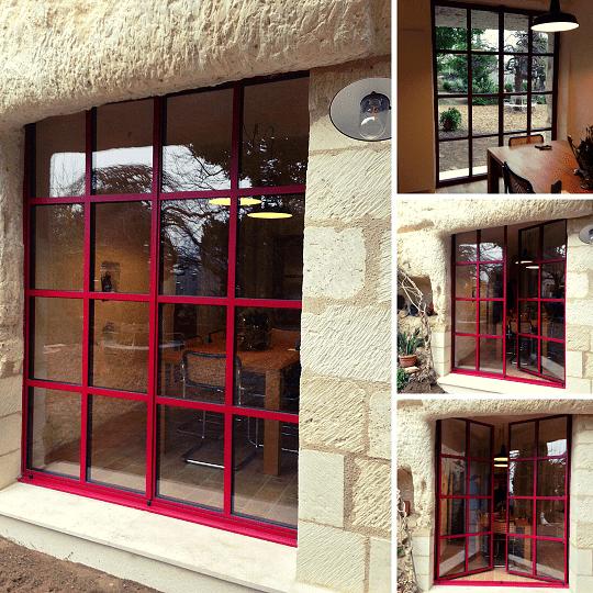 Fenêtre-acier-isolante Tours Etienne Bouclet