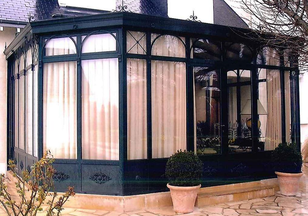 veranda-alu-noir Blois Etienne Bouclet
