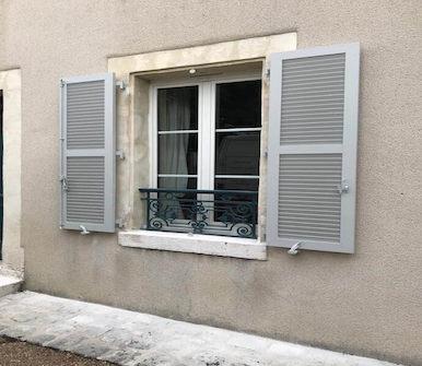 volet Pour un appartement Etienne Bouclet